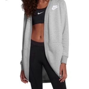 NWT Nike Long Sleeve Cardigan